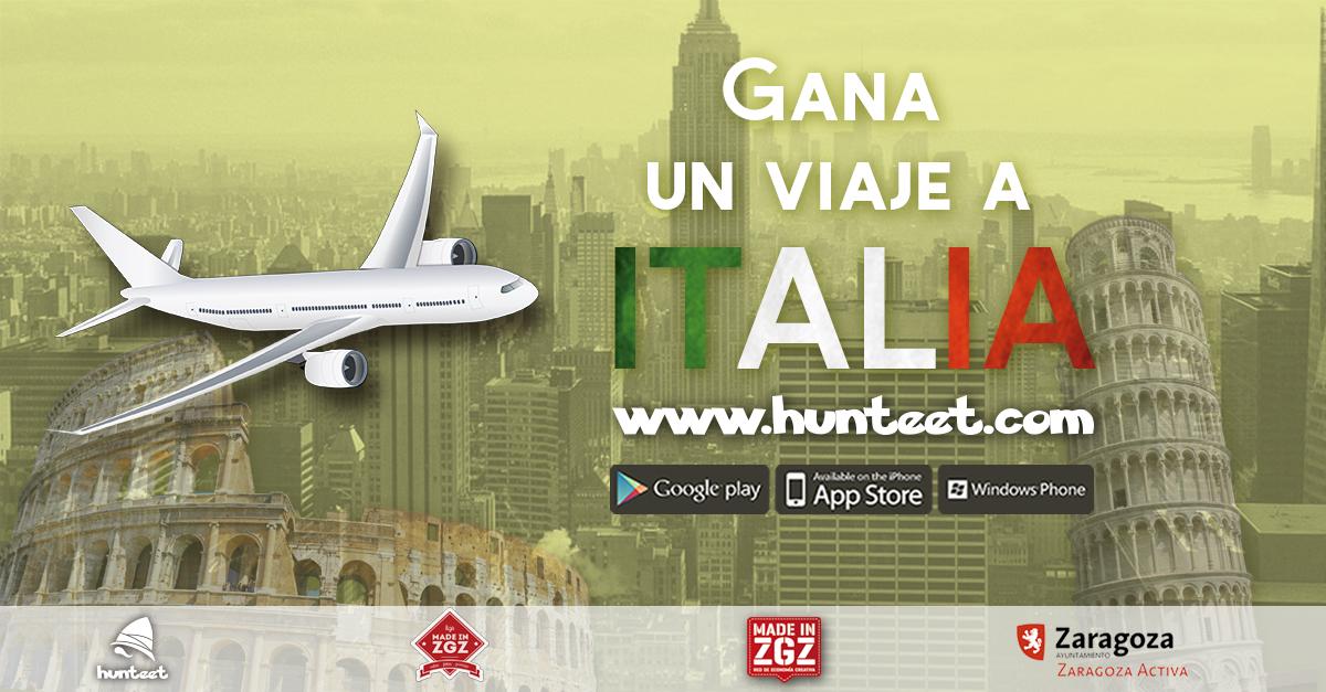 Viaje a Italia para 2 personas
