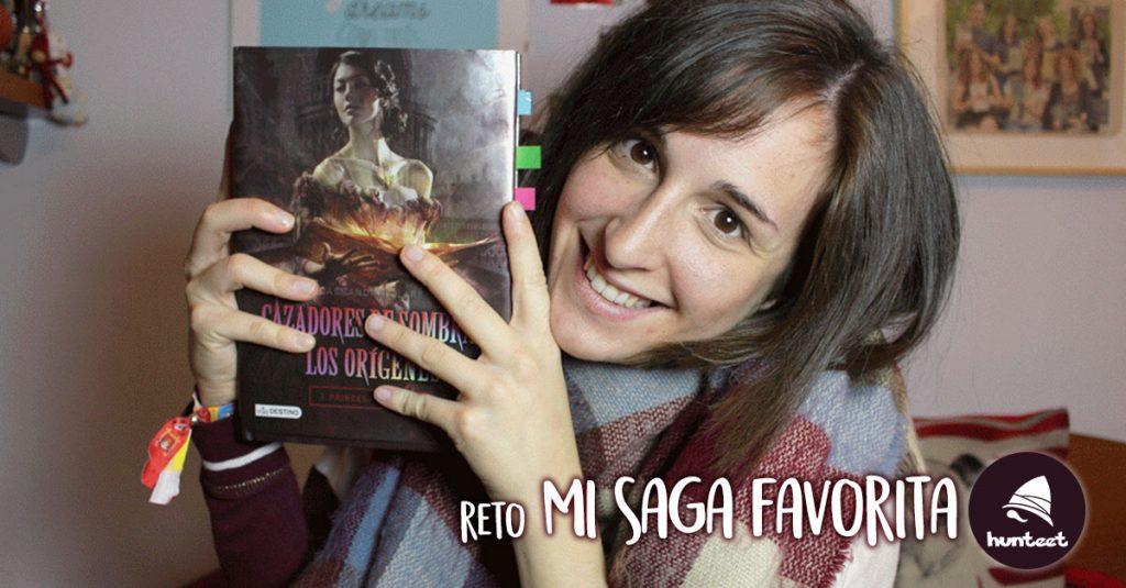 Reto Hunteet Mi saga favorita con la booktuber Patricia García y su canal de YouTube Little Red Read
