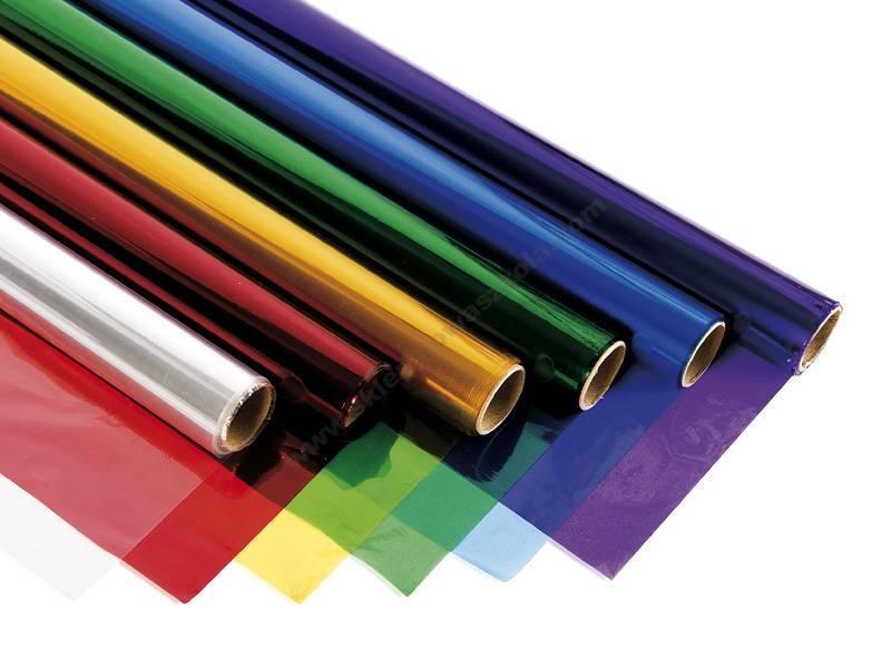 Trucos para hacer filtros de color caseros con papel celofan
