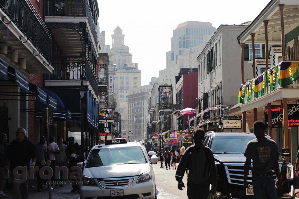 Bourbon Street II - Colección de fotografía de La esencia del Sur, de Texas a Nueva Orleans de Gröna Comunicación