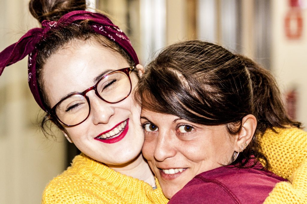 Cristina Martínez e Isabel Aparicio, fundadoras de Gröna Comunicación