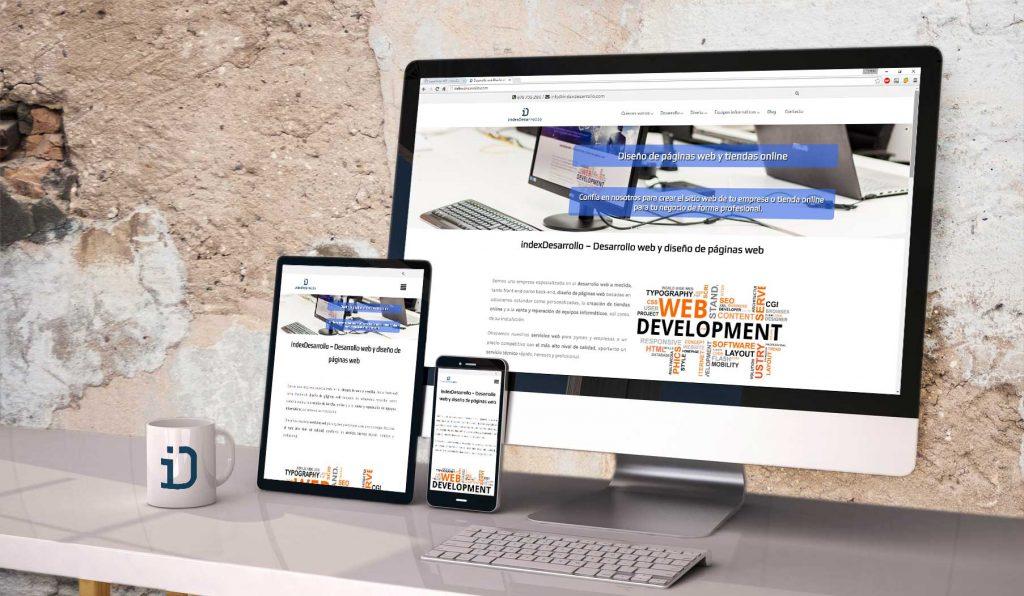 El diseño responsive es clave para la adaptación de una web o aplicación a cualquier soporte, en indexDesarrollo están especializados en ello
