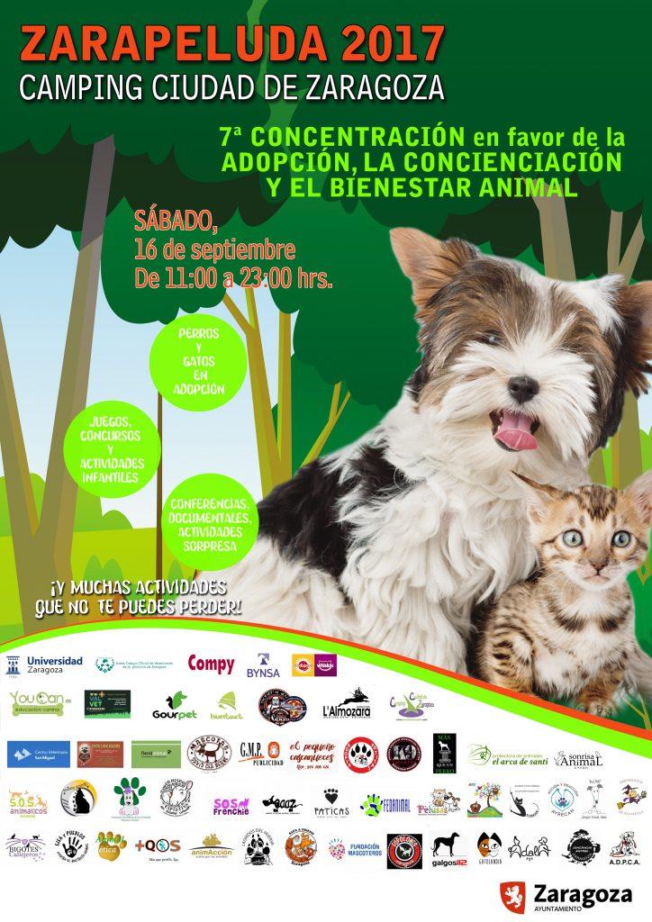 Cartel de Zarapeluda 2017, evento que tendrá lugar el sábado 16 de septiembre de 2017
