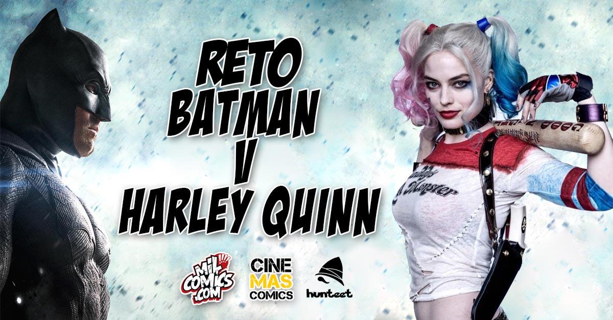 Participa en el reto de Cinemascomics y Milcomics Batman vs Harley Quinn y podrás ganar premios