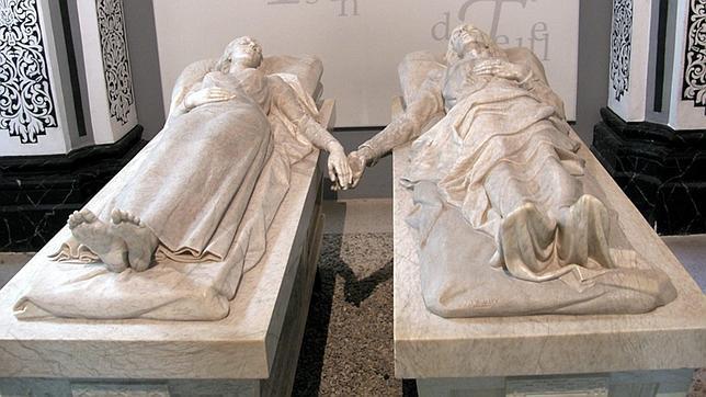 Tumbas monumento de los Amantes de Teruel