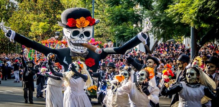 Desfile del Día de los Muertos en Centroamérica