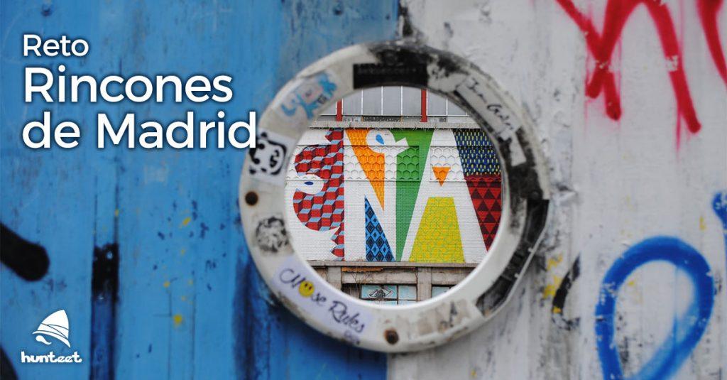 Reto Rincones de Madrid en la app gratuita de Hunteet - Muéstranos tu rincón favorito de Madrid