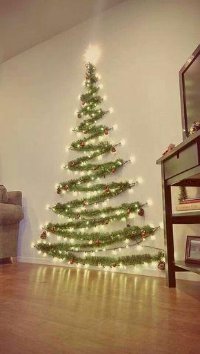Árbol navideño de espumillón