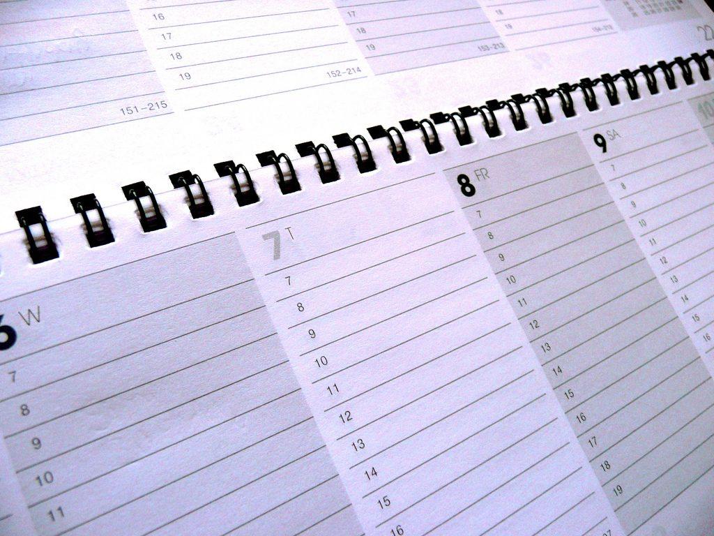 Calendario diferentes días celebración año nuevo por el mundo