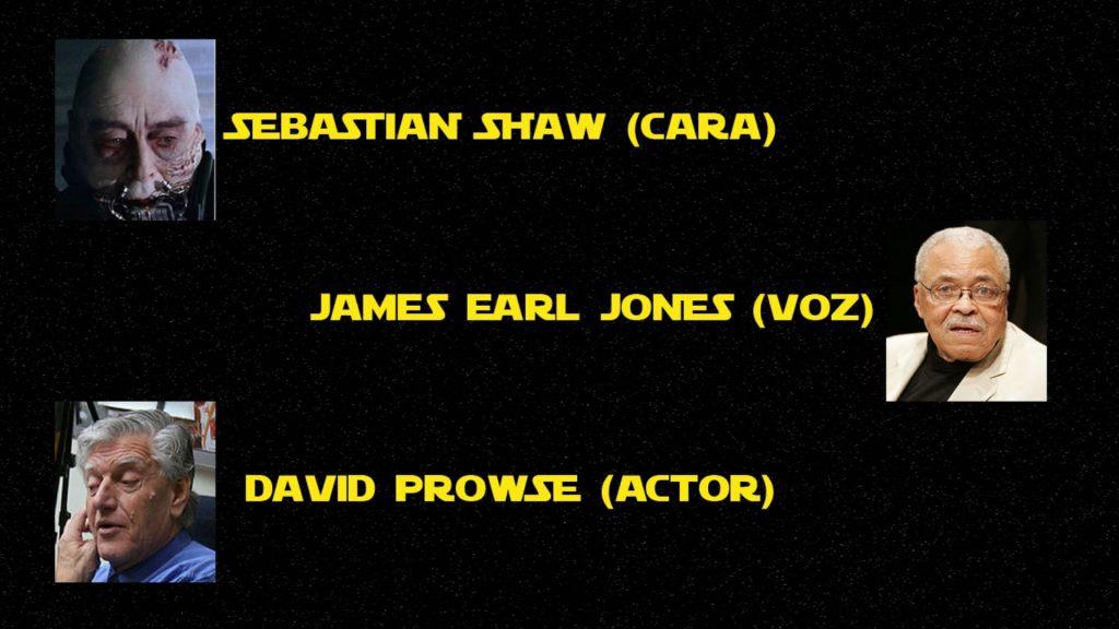 Los 3 actores que dieron vida a Darth Vader en Star Wars - cara, cuerpo y voz James Earl Jones