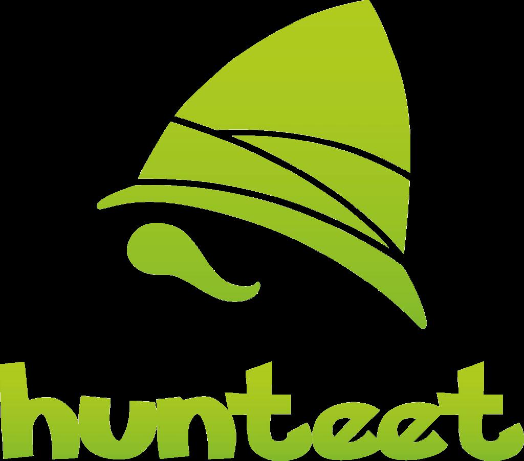 Logo de Hunteet aplicación app para ganar premios haciendo fotos