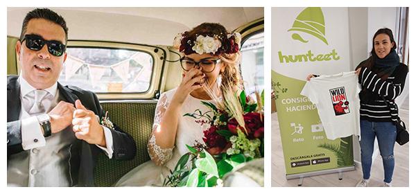 Elisa hunteer ganadora del reto Día del Padre en el que ganar premios haciendo fotos en la app gratis Hunteet