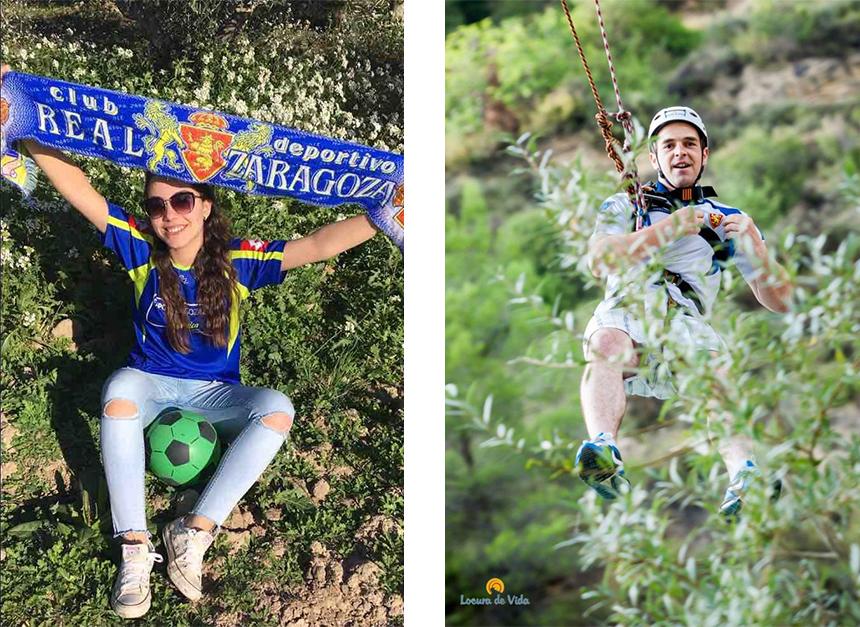Ganadores del reto fotográfico del Real Zaragoza, nuestros hunteers ganaron premios subiendo sus fotos zaragocistas
