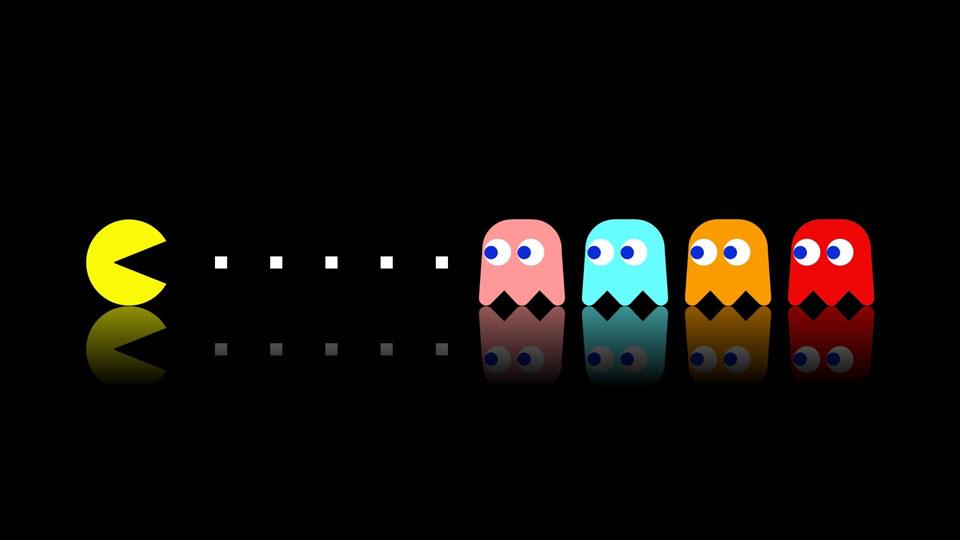 Pac-Man y los fantasmas son los personajes más icónicos de los videojuegos retro