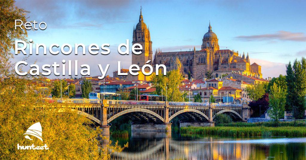 Portada del reto de abril 2018 Rincones de Castilla y León sube una foto a la app Hunteet y gana premios
