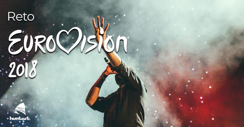 Reto de Eurovisión 2018 sube una foto de Eurovisión al país con mas puntos y al que menos puntos consiga y gana una suscripción a Spotify