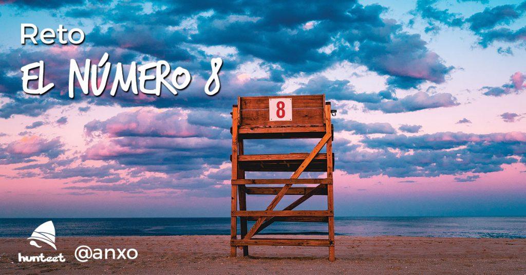 Reto del emprendedor Anxo Pérez - Sube una foto mostrando el número 8 y gana un libro firmado