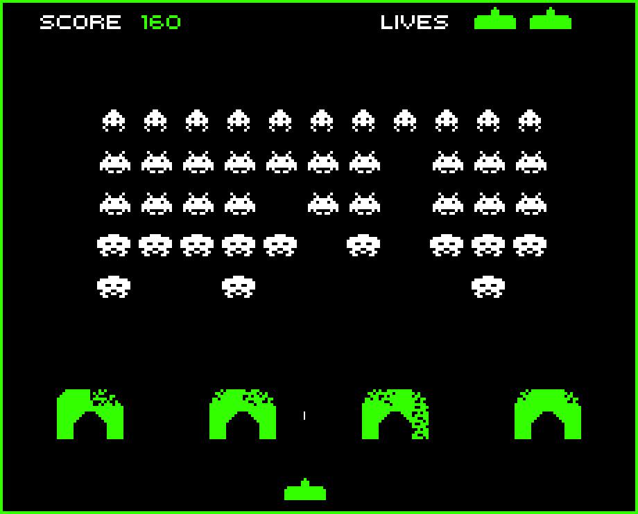 Space Invaders otro de los videojuegos retro más icónicos de la historia