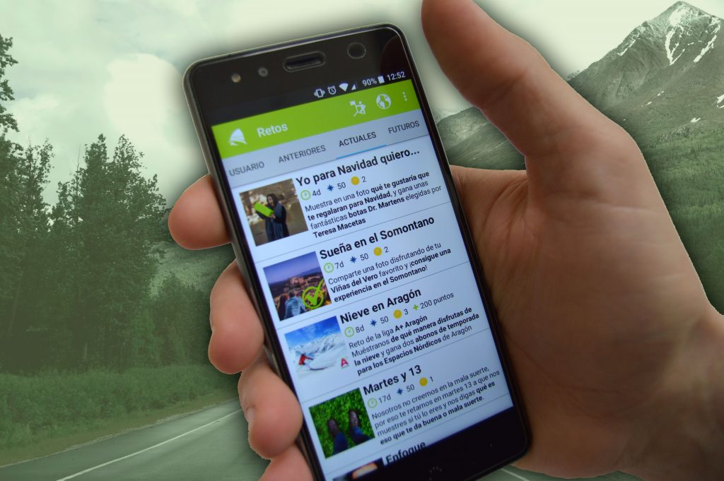 Más gamificación en la app gratis de Hunteet a través de estrellas y monedas
