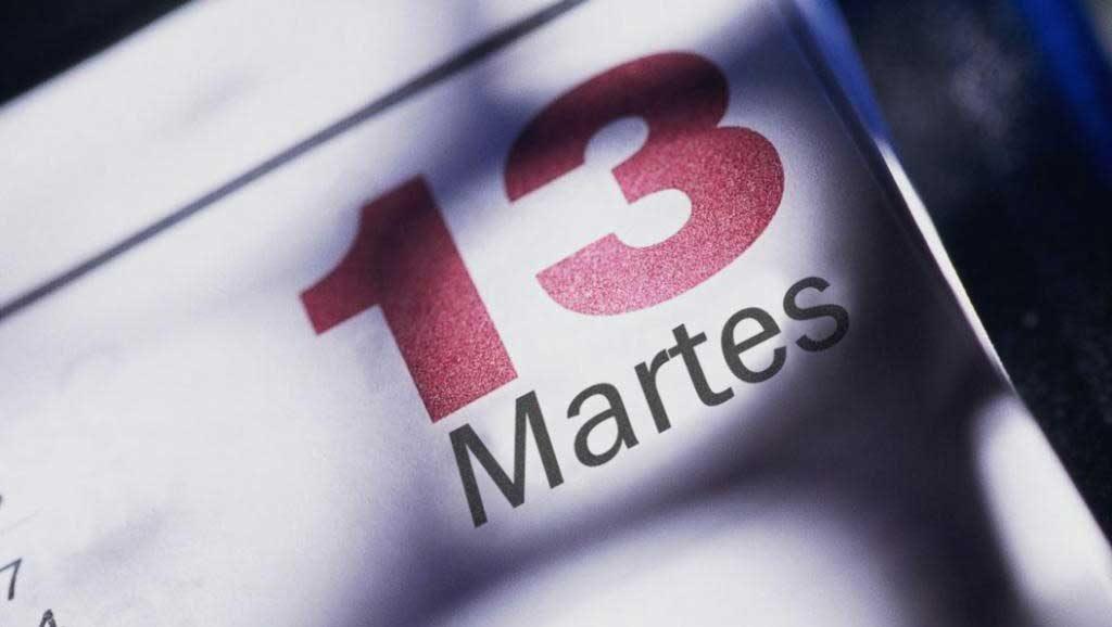 Martes día 13, todo un día para tentar a la mala suerte por historia, mito y algo de verdad, ¿qué hacemos? ¿nos preocupamos?