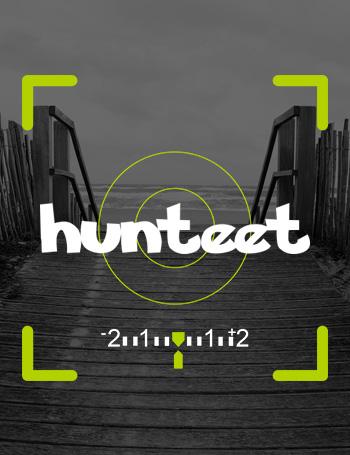 Saca tu móvil, descárgate la aplicación Hunteet, selecciona tu reto, haz la foto, diviértete con tus amigos y gana premios