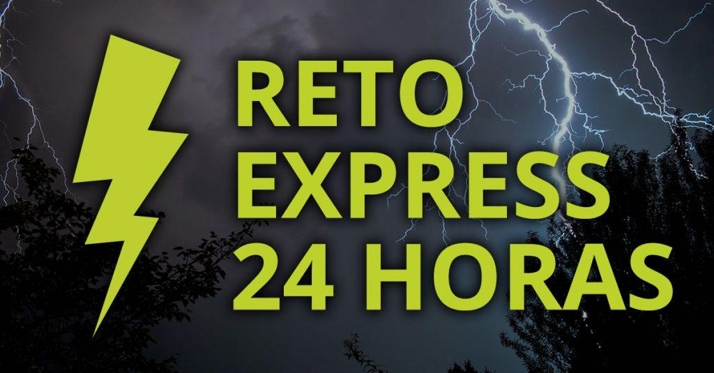Reto Express 24 horas sube una foto a nuestra app y gana premios en un día - Gana premios rápido y fácil