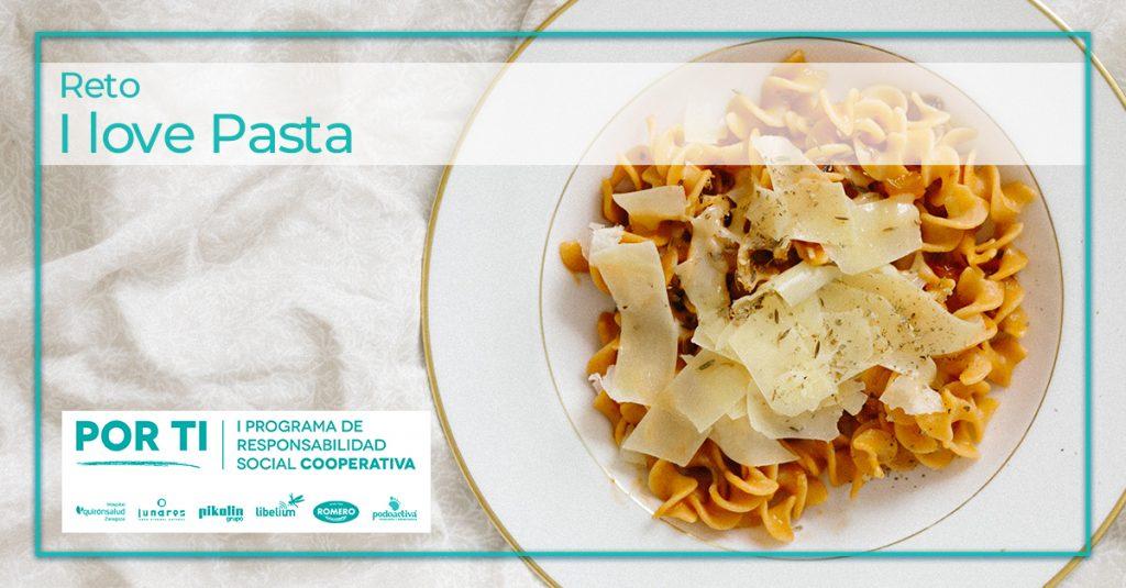 Participa en el reto I love Pasta subiendo una foto de tu plato favorito de pasta a la app gratuita Hunteet y gana premios y diviértete con Pastas Romero