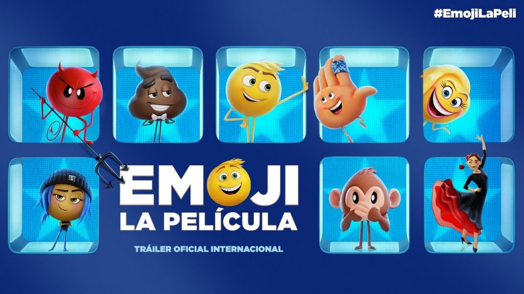 Emoji la película es una película que se lanzó en julio de 2017 coincidiendo con el Día Mundial del Emoji