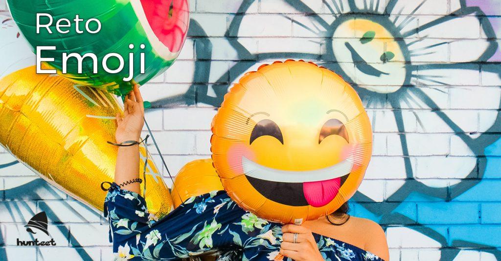 Participa en el Reto Emoji en la app Hunteet para celebrar el Día Mundial del Emoji y gana premios
