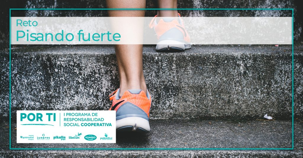Un buen calzado es lo más importante - Reto de Hunteet en su app gratis