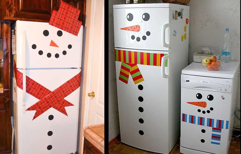 Decoración navideña para tus electrodomésticos - nuevasideasdecoracion.com