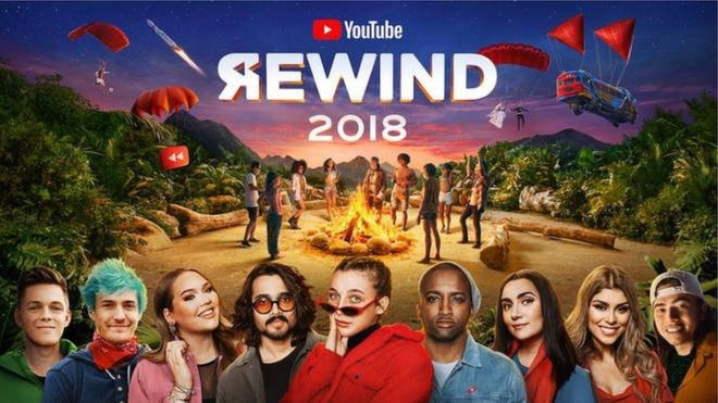 YouTube Rewind 2018 thumbnail portada