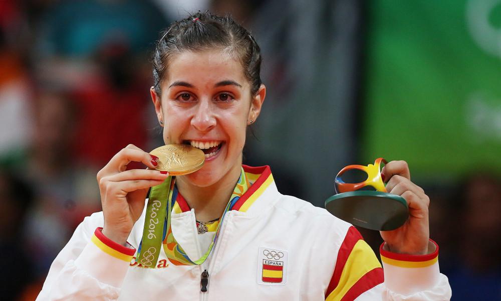 Carolina Marín es una de las mujeres más influyentes en el deporte para nuestros hunteers en el reto de MANN-FILTER en la liga de la app Hunteet en el reto 1 vs 19