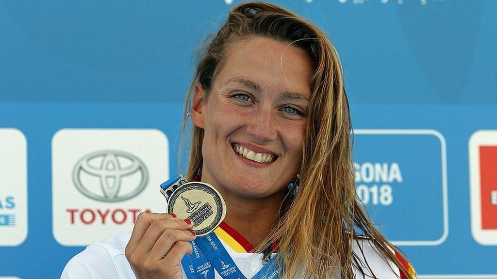 Mireia Belmonte una de las deportistas más influyentes del deporte español y de nuestra galería de fotos en el reto 1 vs 19