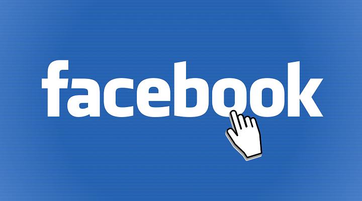 Logo de Facebook una de las redes sociales más antiguas y activas del panorama actual