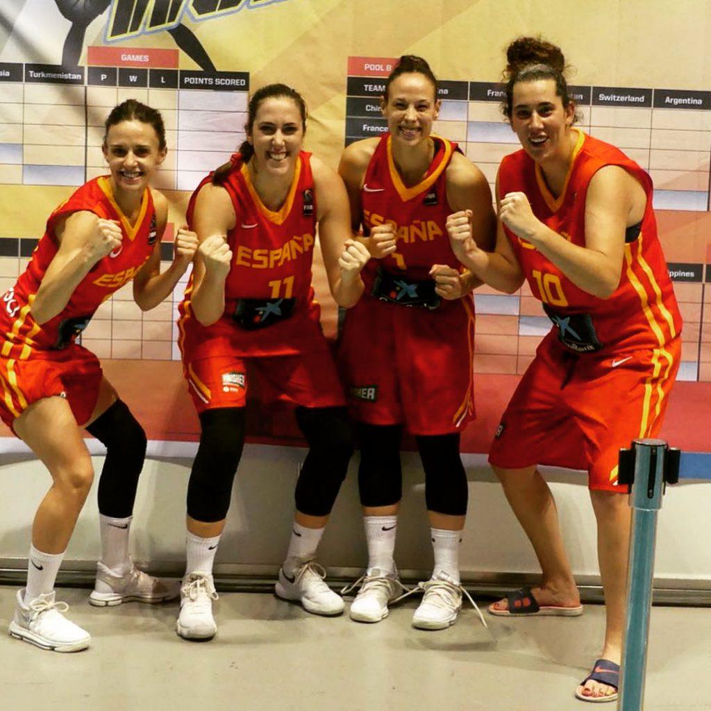 Vega Gimeno en la Selección Española del 3x3 de la FIBA