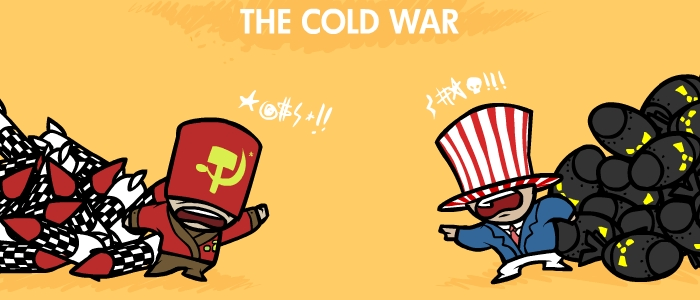La guerra fría en una imagen - JunkyCow