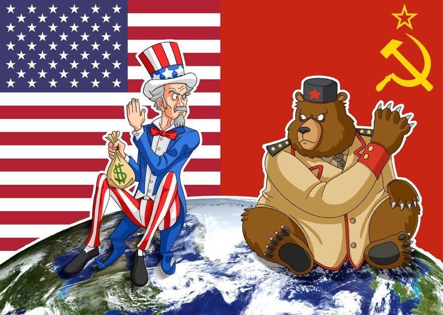 La guerra fría fueron unas tensiones no bélicas entre el bloque occidental EEUU y el bloque del este Unión Soviética - cienciahistorica