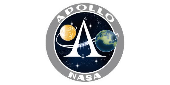 Logo del programa Apollo que consiguió llevar al primer hombre a la luna - Space Quotes