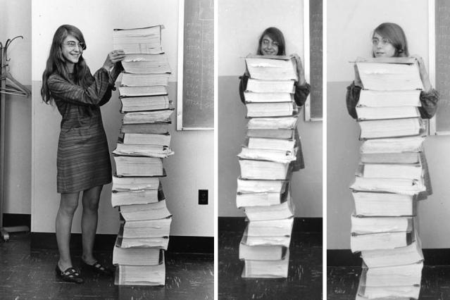 Margaret Hamilton fue una de las mujeres que contribuyó a que el ser humano pudiera llegar a la luna - MIT News
