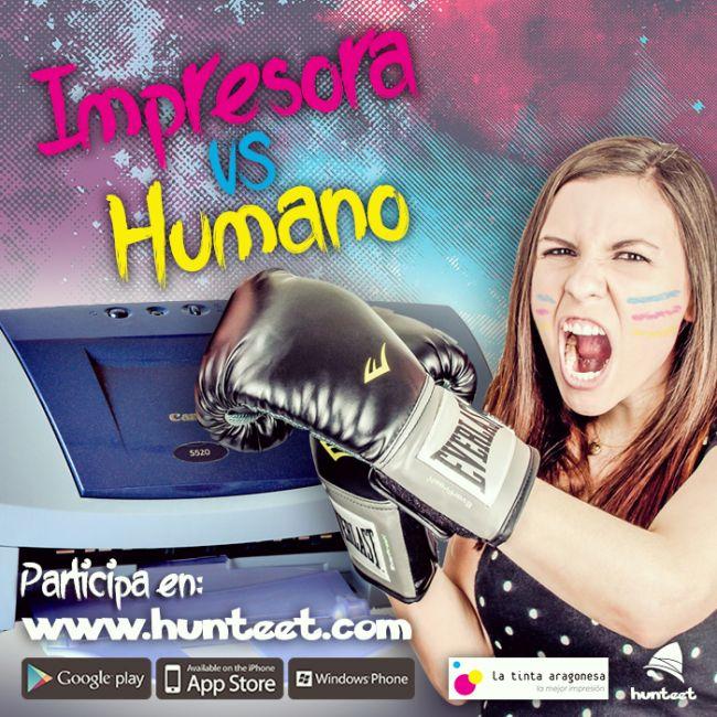 Impresora VS Humano