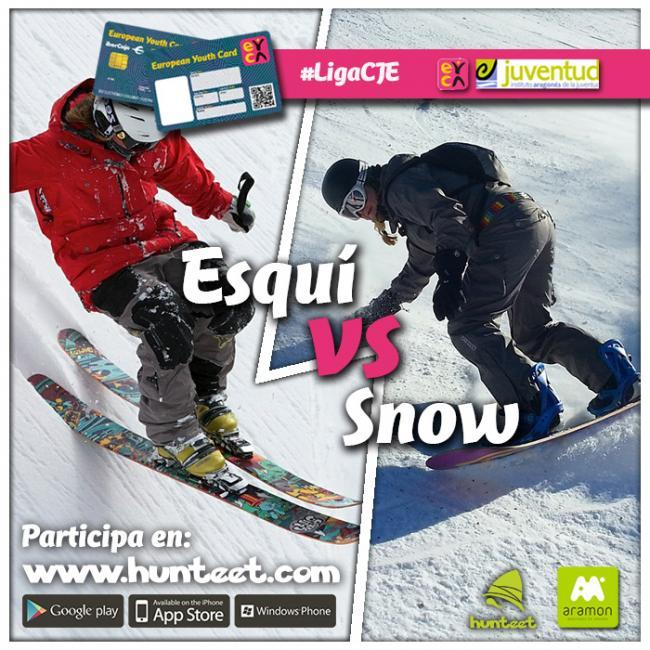 Esquí vs snow