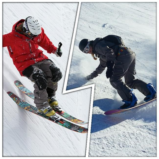 Esquí vs snow