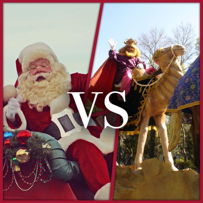 Papá Noel vs Reyes Magos