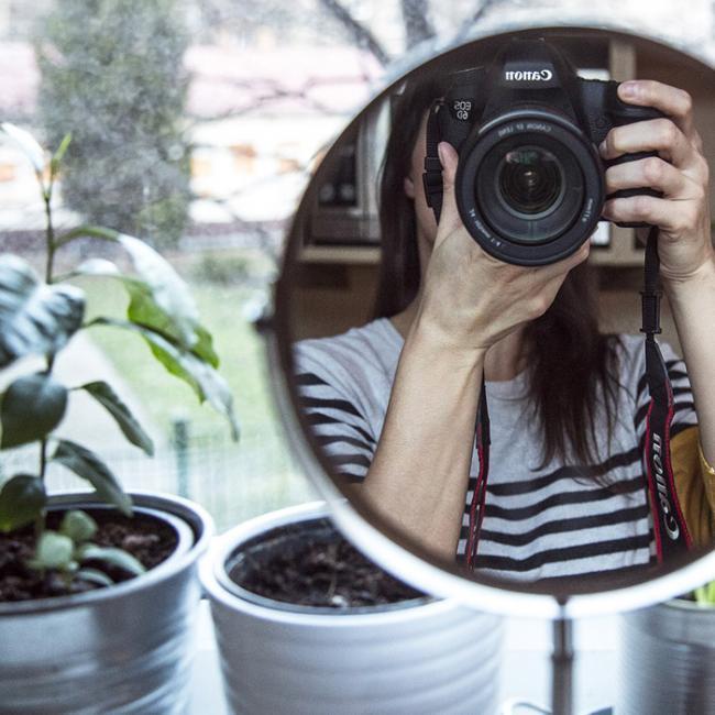 Selfie en el espejo