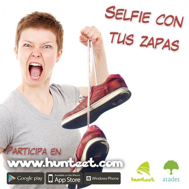 Selfie con tus zapas