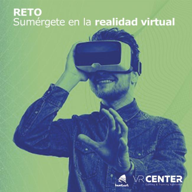 Sumérgete en la realidad virtual