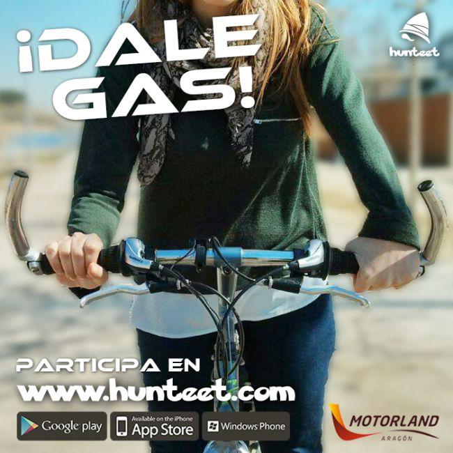 ¡Dale gas!