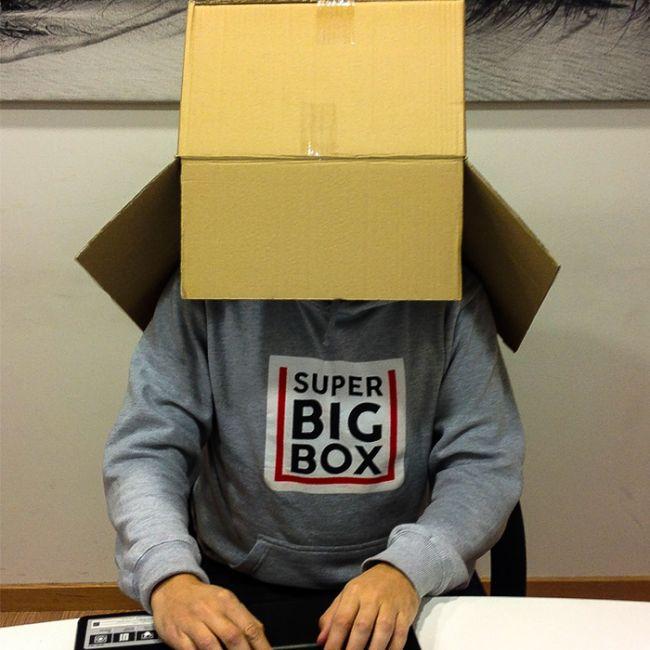 La caja, la caja